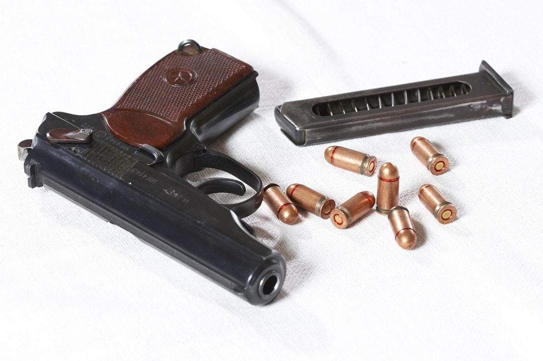 Calibre history: 9x18 mm  A cartridge for the Makarov Pistol