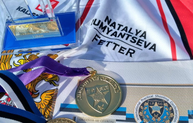 Наталья Румянцева выиграла матч в Эстонии