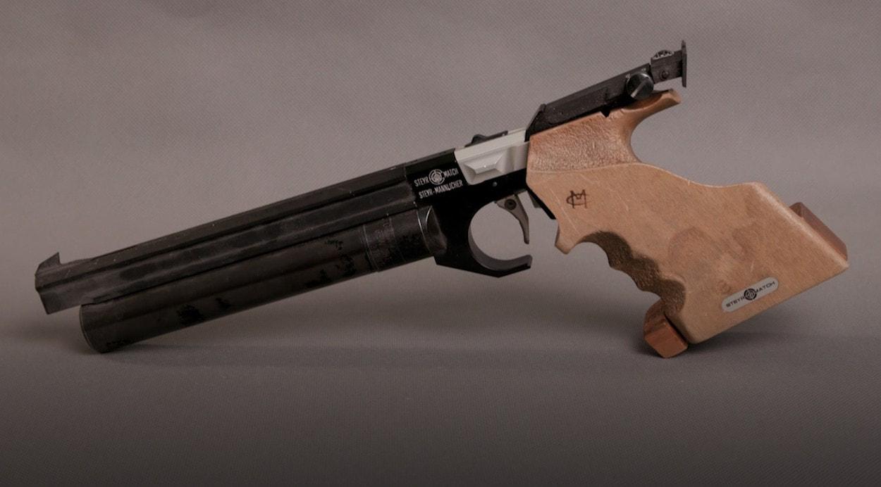 История пневматики: пистолет Steyr Mannlicher LP5