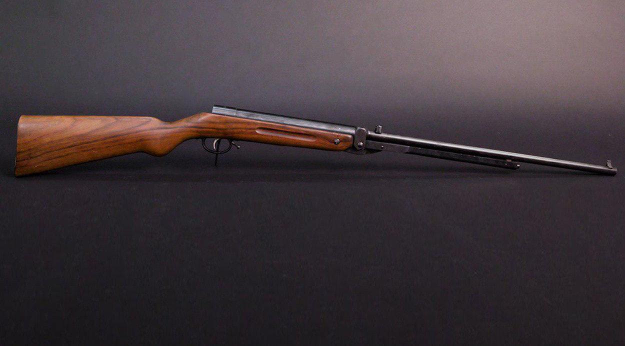 История пневматики: винтовка Haenel 5