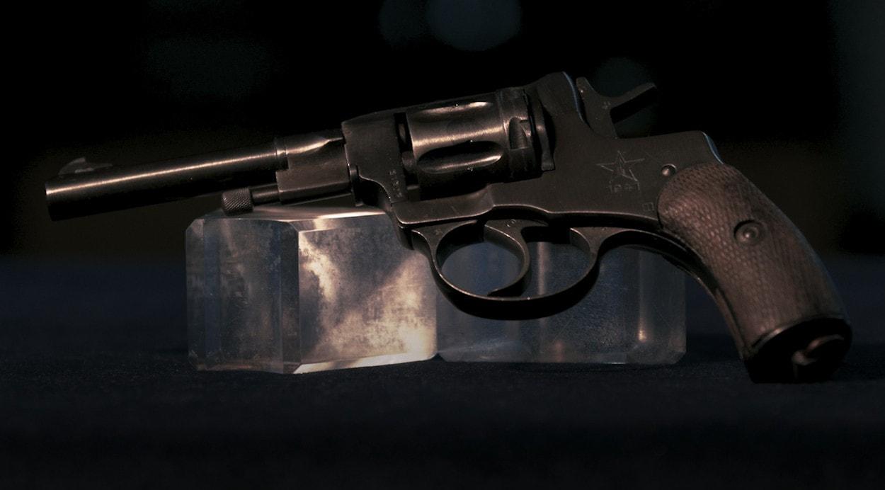 100 лет «Красной Армии»: револьвер Наган