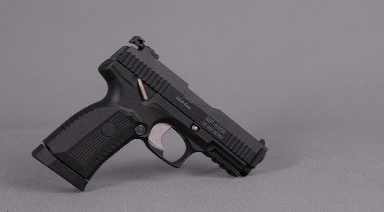 Современная пневматика: пистолет МР-655К