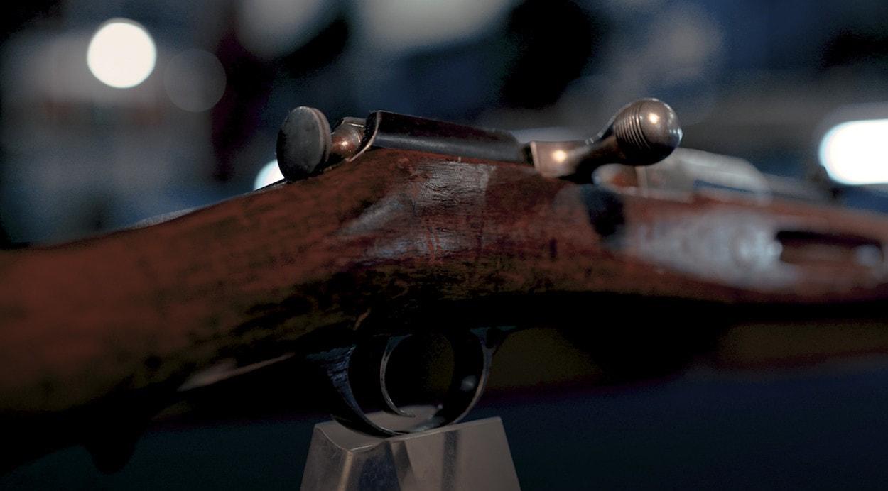 100 лет «Красной Армии»:  Однозарядная винтовка Мосина, опытная