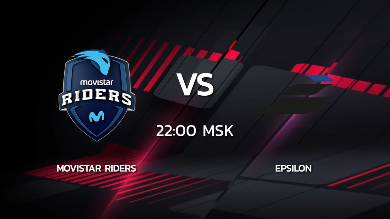 2 сезон Kalashnikov Cup: Epsilon 16-11 Movistar Riders (карта Train)