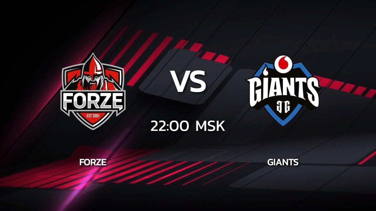 2 сезон Kalashnikov Cup: forZe 16-8 Giants (карта Inferno)