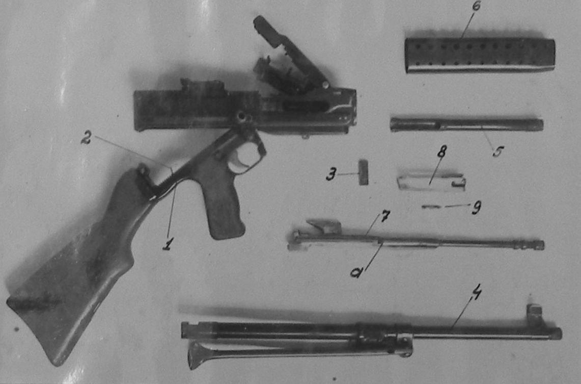 Отчет стрелкового полигона: пулемет Афанасьева