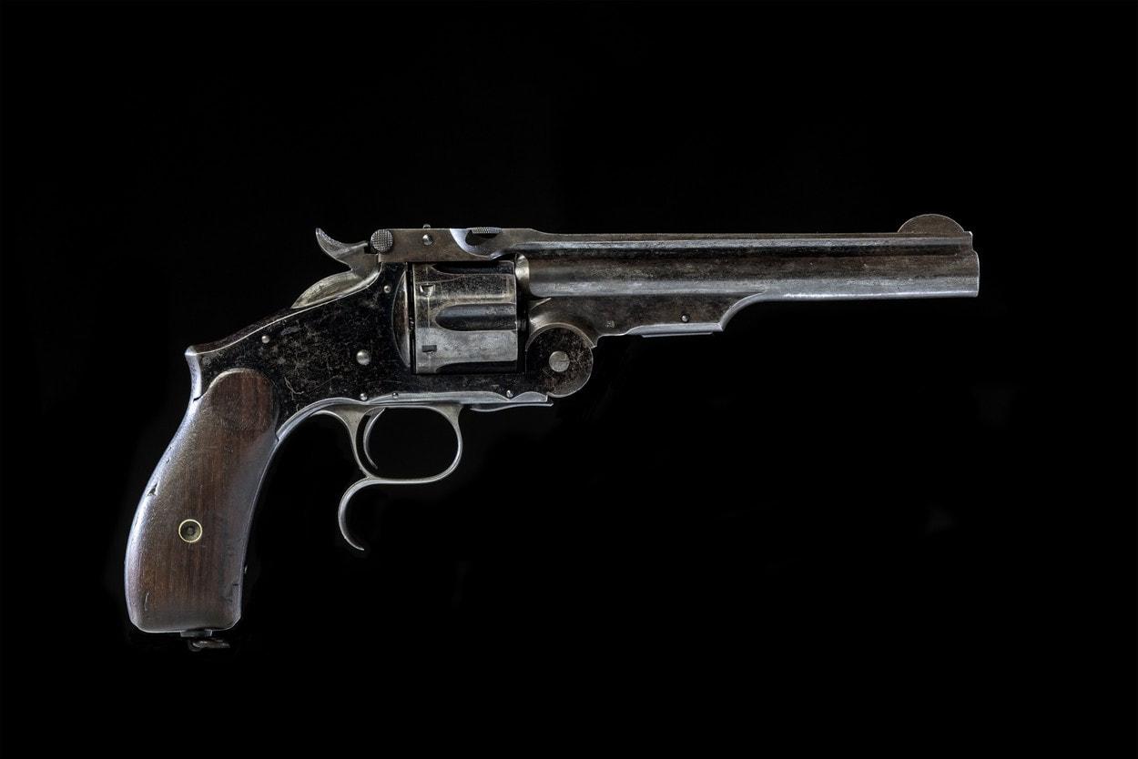 Антикварная лавка: Револьвер Системы Смита-Вессона III Образца