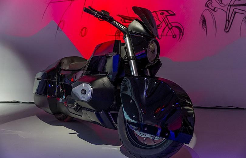 Концепт тяжелого мотоцикла «Иж»