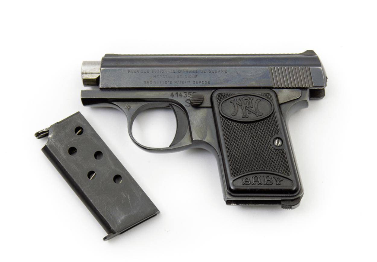 История калибра: 6,35 мм Браунинг