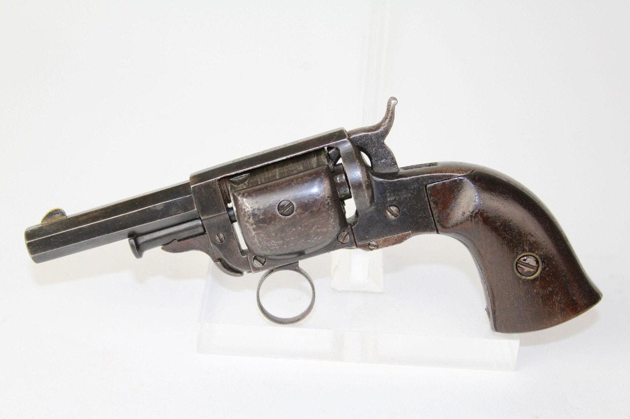 Револьвер и паровоз: Walking Beam или как переиграть Кольта
