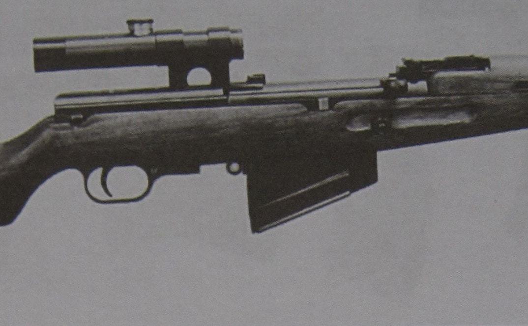 Отчет стрелкового полигона: снайперская самозарядная винтовка КБ-2 Дегтярева