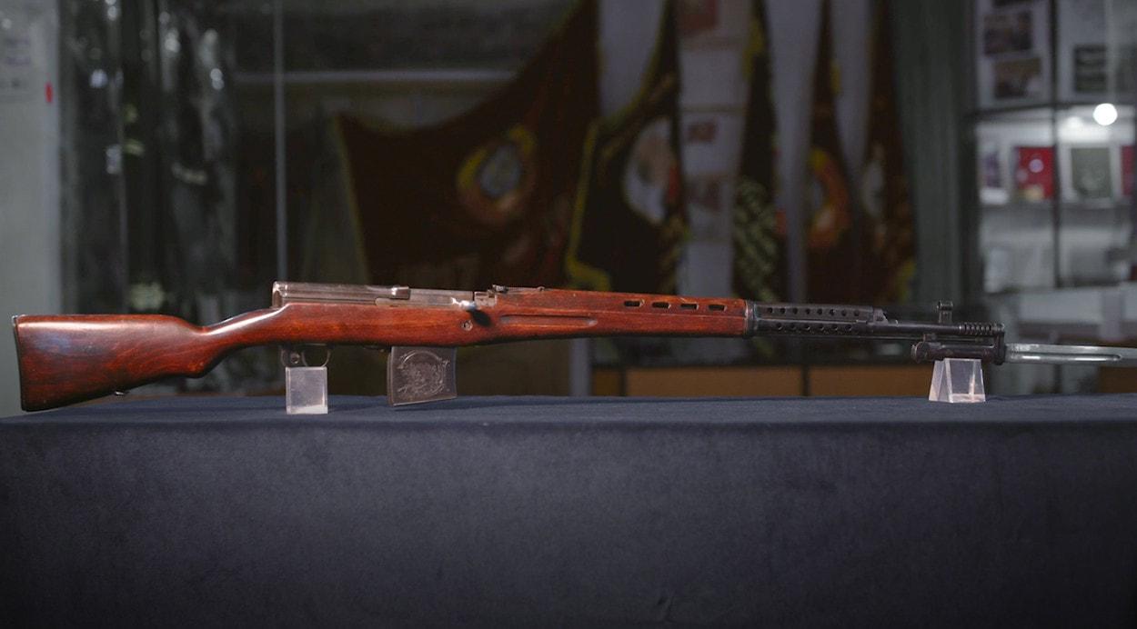 100 лет «Красной Армии»: Самозарядная винтовка Токарева СВТ-40