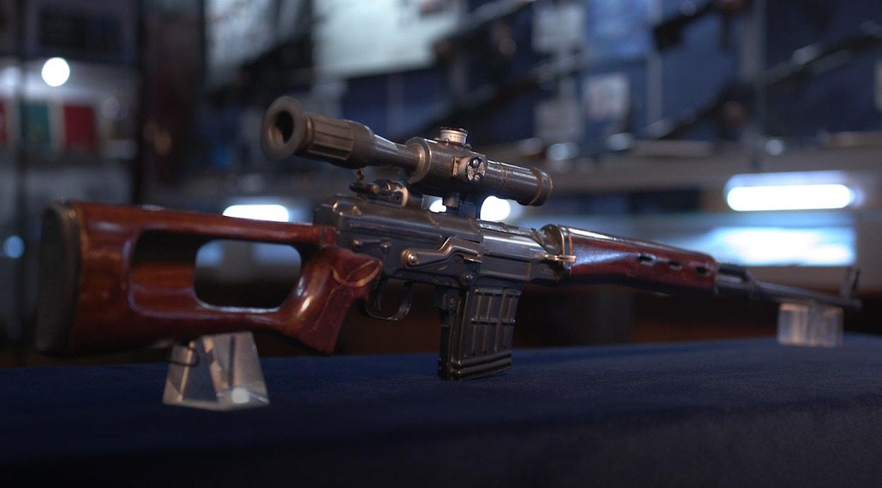 100 лет «Красной Армии»: Снайперская винтовка Драгунова ССВ-58, опытная