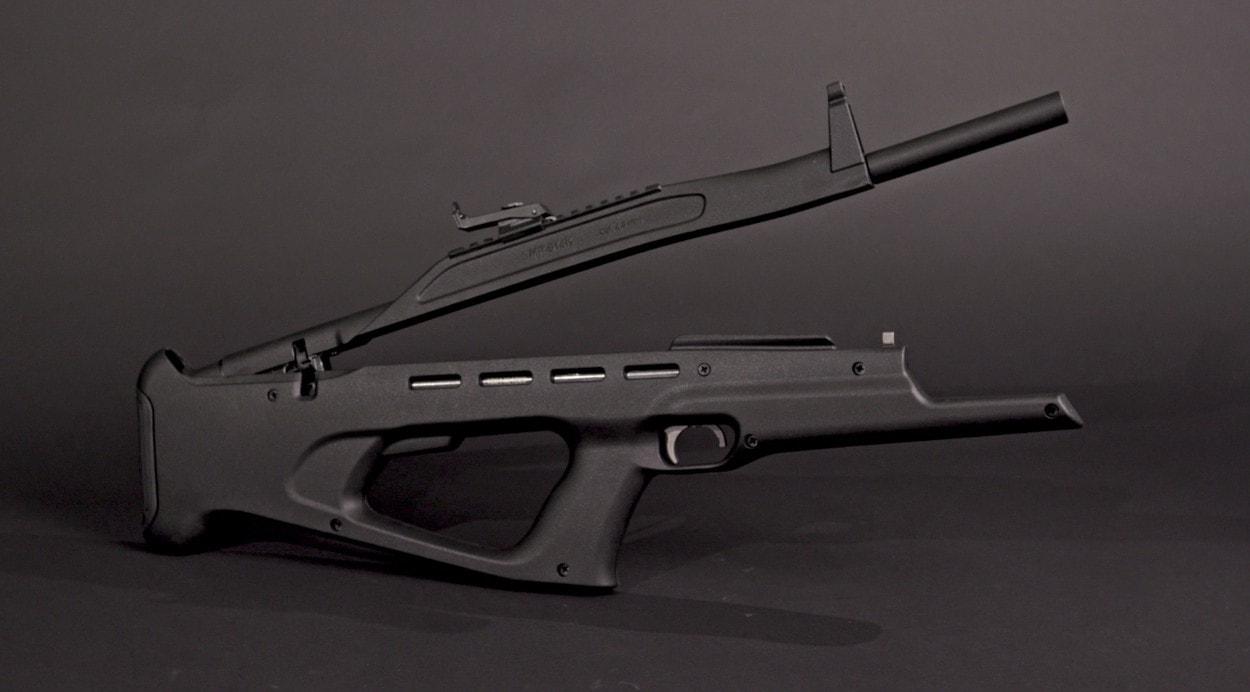 Современная пневматика: винтовка МР-514К