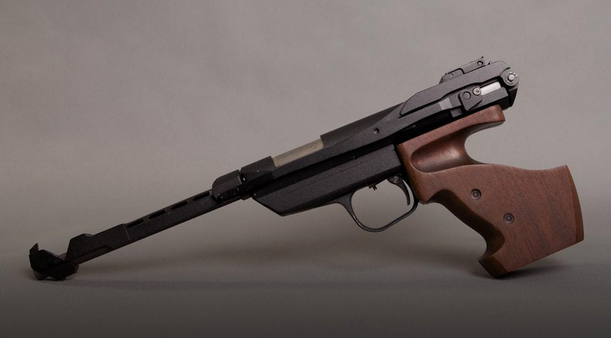 История пневматики: пистолет ИЖ-33М2