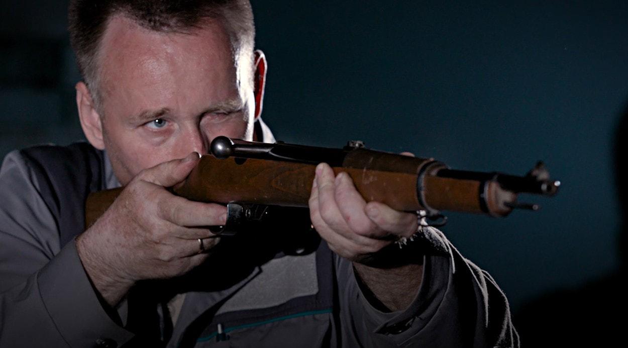 История пневматики: винтовка «Haenel» 33