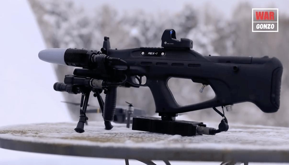 WarGonzo протестировал ружье против дронов REX-1