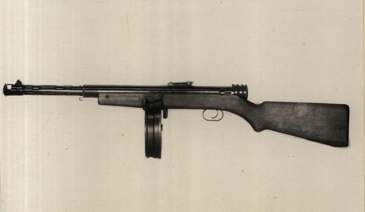 Отчет стрелкового полигона: пехотный пулемет Шпитального
