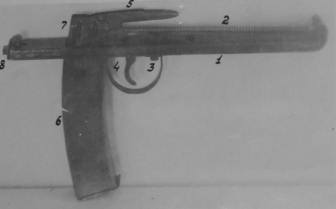 Отчет стрелкового полигона: пистолет-пулемет Пушкина