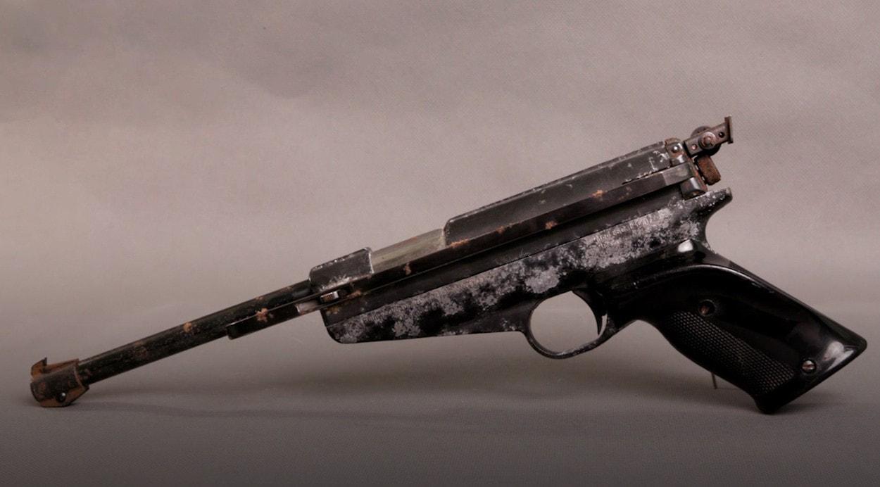 История пневматики: Спортивный пистолет Feinwerkbau 65