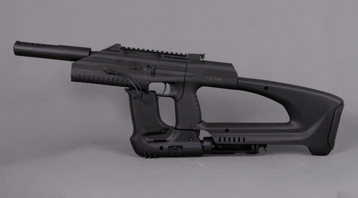 Современная пневматика: пистолет МР-561К «Drozd»