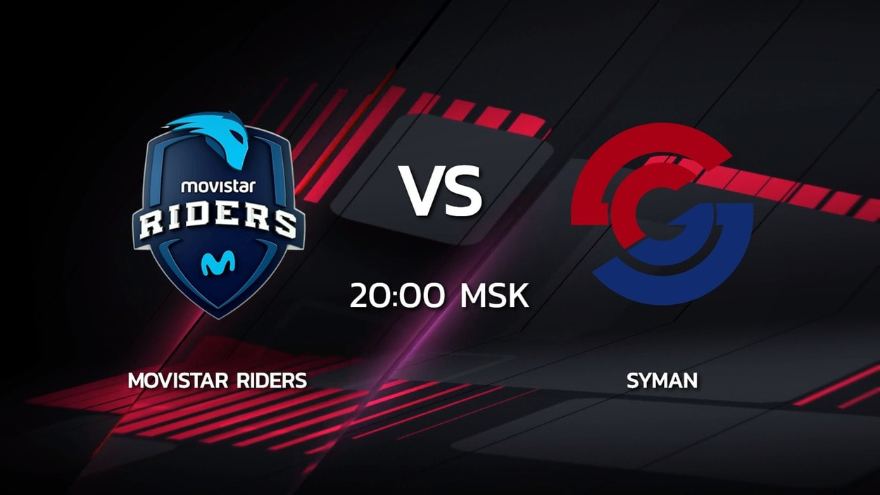 2 сезон Kalashnikov Cup: Syman Gaming 16-13 Movistar Riders (карта Mirage)