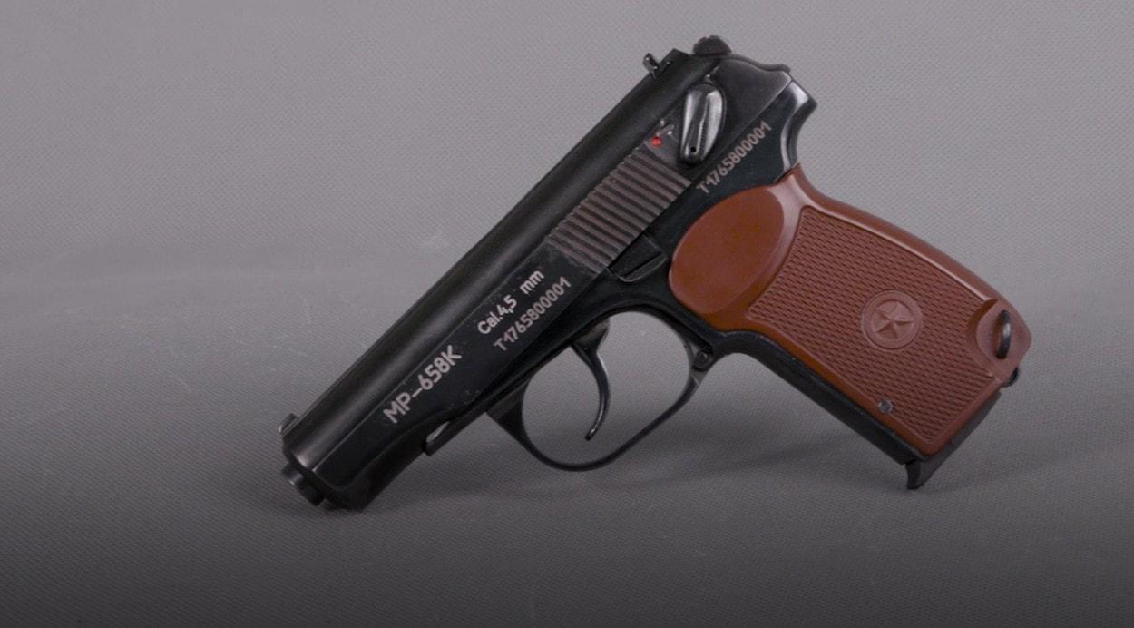 Современная пневматика: Пистолет МР-658К