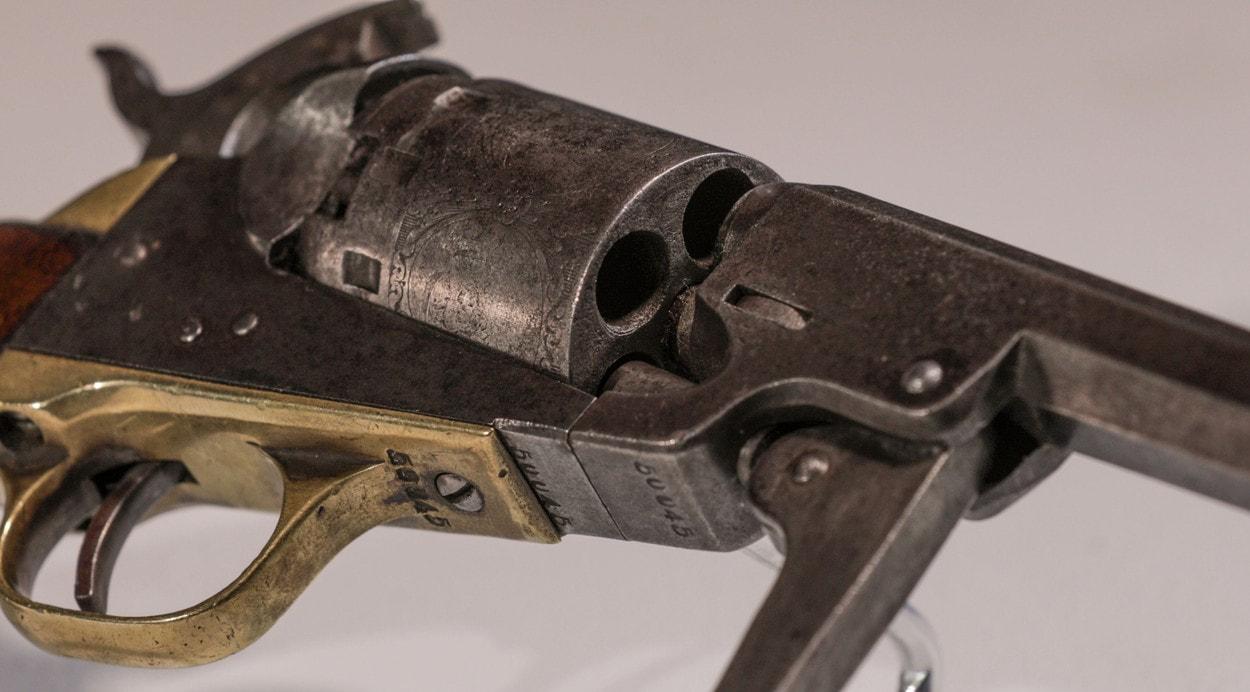 Антикварная лавка: капсюльный револьвер Manhattan