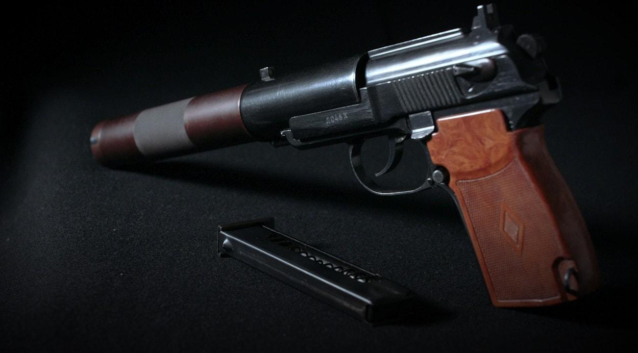 100 лет «Красной Армии»: Бесшумный пистолет ПБ