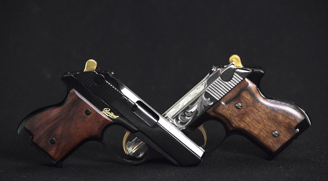 Пистолеты MP-75 с гравировкой
