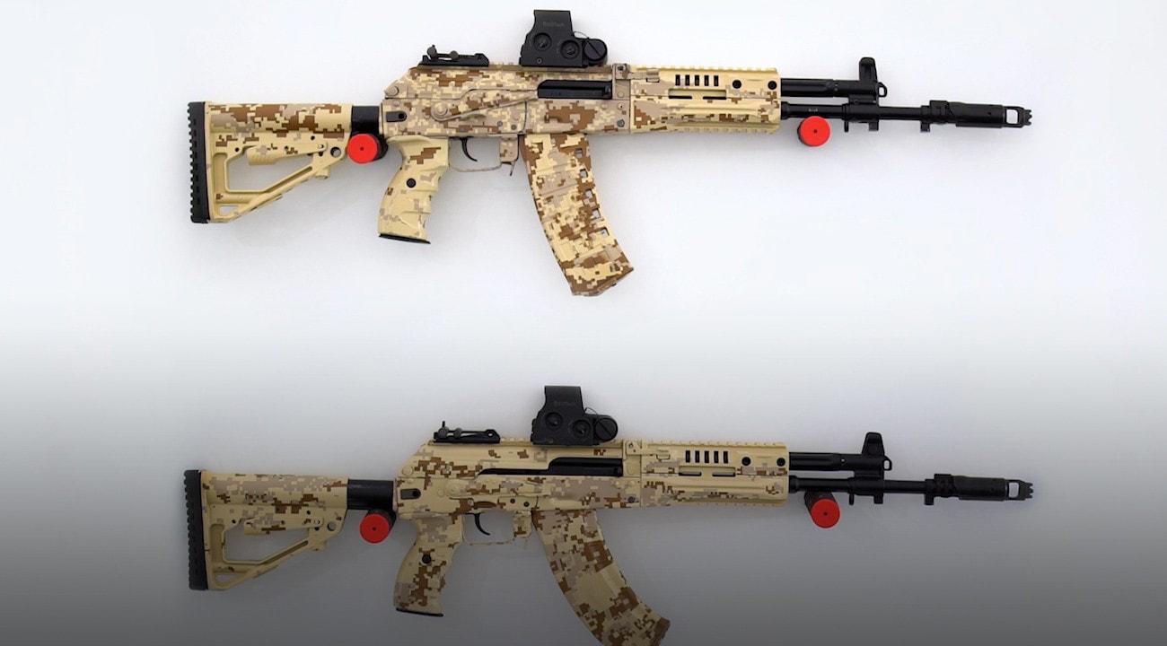 Kalashnikov AK-12 and AK-15 assault rifle (Russia) - Modern Firearms