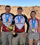 Команда «Калашников» завоевала 4 золотых медали на соревнованиях в Казахстане