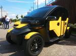 «Калашников» представил электромобиль для нужд такси