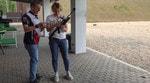 Иван Черезов и Ольга Зайцева посоревновались в меткости