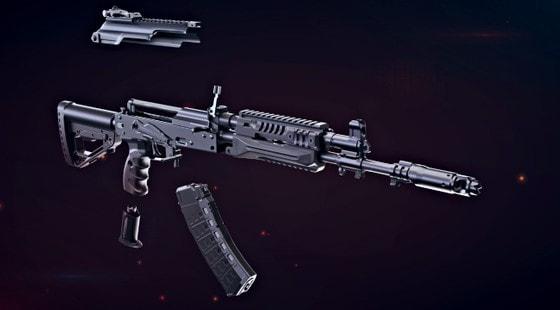 Как устроен автомат АК-12?