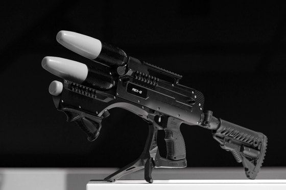 Как выглядит вторая версия ружья против дронов REX-2