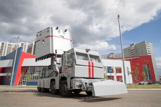 Концерн «Калашников» представил вторую версию автомобиля специального назначения «Стена»