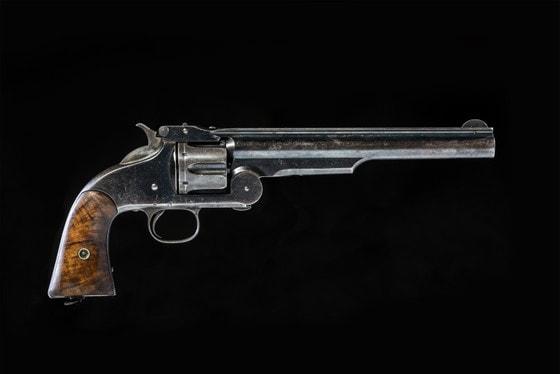 Антикварная лавка: Револьвер системы Смита-Вессона I образца