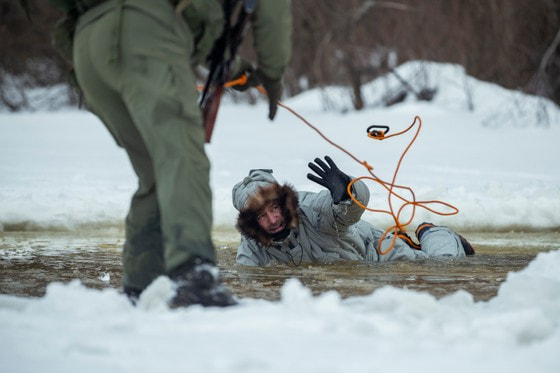 Испытание комплекта арктической экипировки «Нанук»