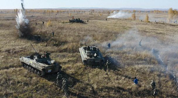 Международные военно-тактические игры «ЗАРЯ: Уральский резерв»