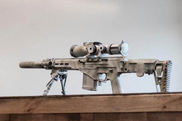Винтовка СВЧ-308, из которой стрелял Владимир Путин, в деталях