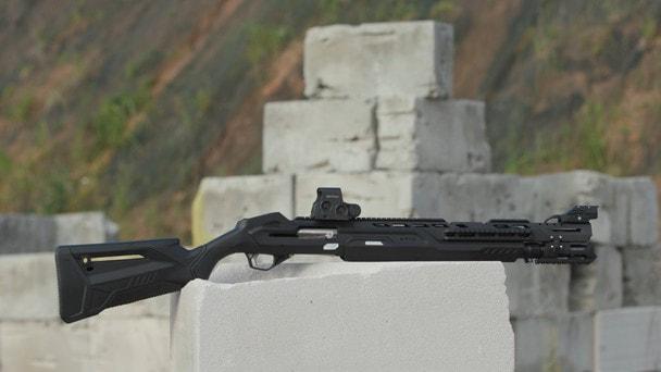«Калашников» представил первое в России SMART-ружье MP-155 Ultima