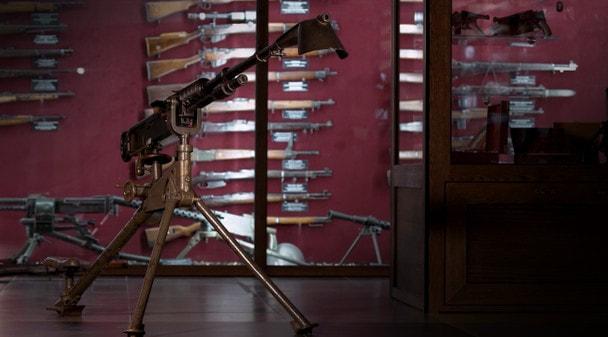 Арсенал Первой мировой: станковый пулемет Гочкисс