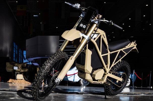 Электрический мотоцикл SM-1 в деталях