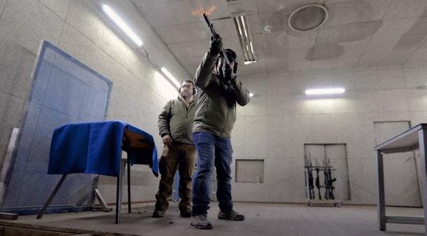 Ларри Викерс тестирует АК-12
