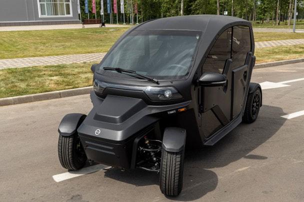 Электромобиль «ОВУМ» нового поколения