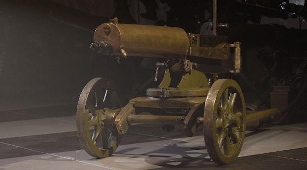 Арсенал Первой мировой: станковый пулемет Максима