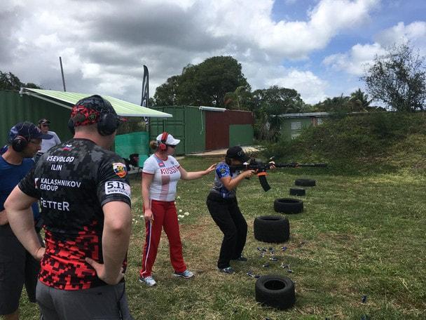 Мария Шварц о стрелковых сборах в Гваделупе