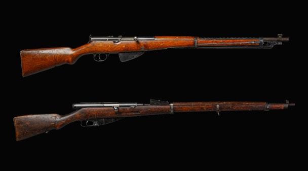 Самозарядные винтовки Токарева. Часть 1