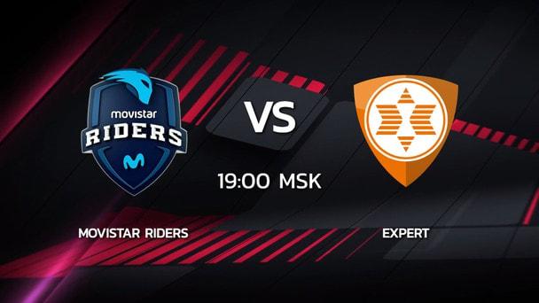 2 сезон Kalashnikov Cup: expert 16-14 Movistar Riders (карта Mirage)
